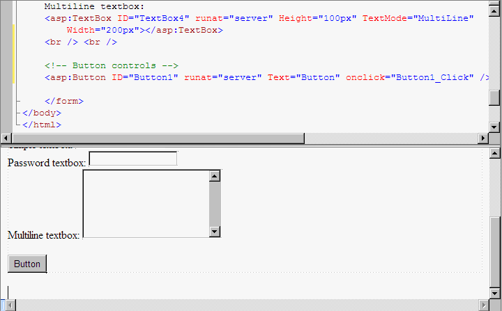 ASP NET 3 5 - Tutorial - Simple ASP NET Server Controls