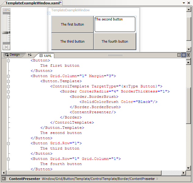 wpf tutorial controls and layout