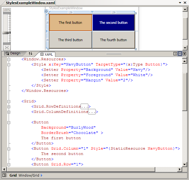 WPF Tutorial - Controls and Layout